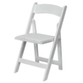 Where to rent CHAIR, FOLDING WHITE in El Dorado AR